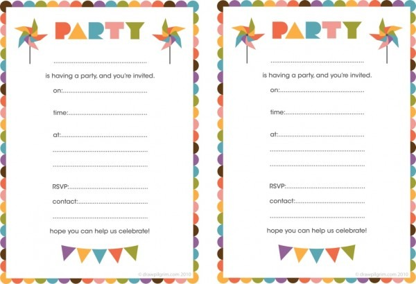 How To Print Birthday Invitations At Home Nice With How To Print