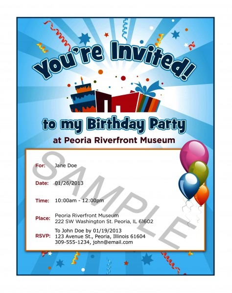 How To Write Invitation For Birthday Party New With How To Write
