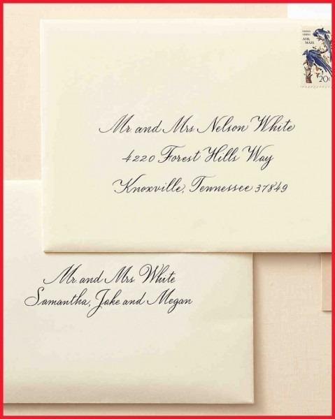 Wedding Card Envelope Writing Archives