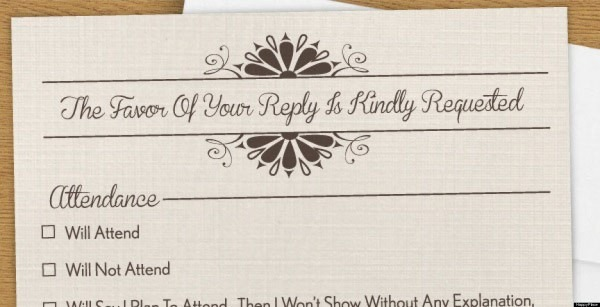 Humorous Wedding Invitations Humorous Wedding Invitations For