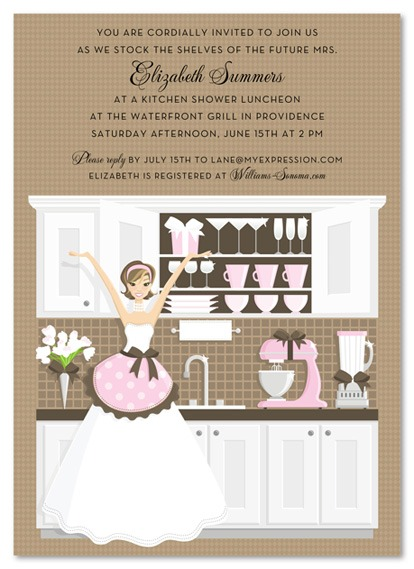 Imágenes De Printable Kitchen Themed Bridal Shower Invitations