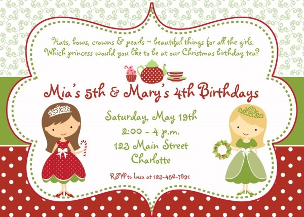 Ideas Christmas Tea Invitations 69 For Your Card Picture Images