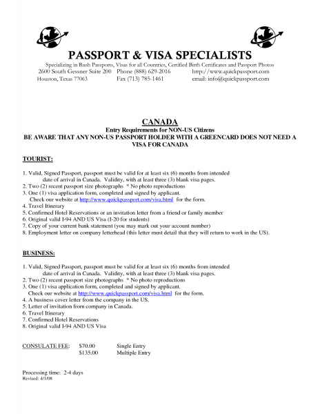 Ideas Collection Invitation Letter For Canadian Business Visa Save