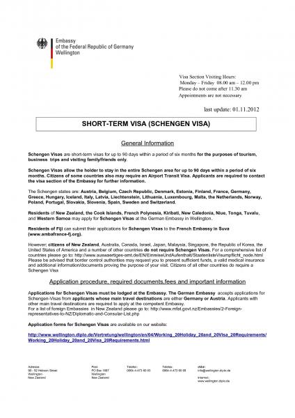 Collection Of Solutions Invitation Letter For Schengen Visa Sample