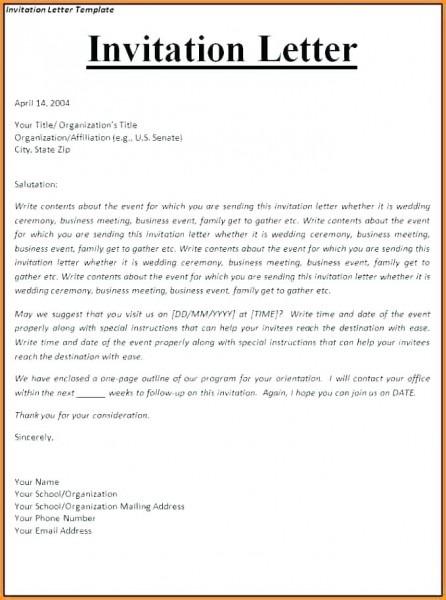 Visa Sponsorship Letter Sample And Sponsorship Letter For Schengen
