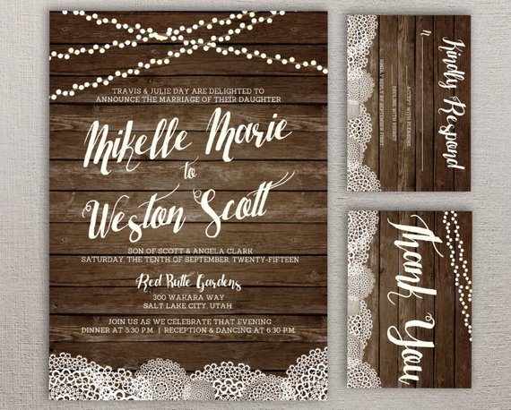 Rustic Barnwood & Lace Doily Twinkle String Light Diy