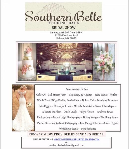 Southern Belle Barn Bridal Vendor Event
