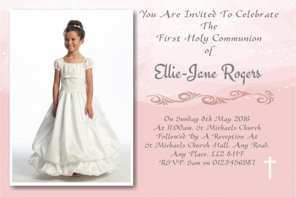 Communion Invites & Favours