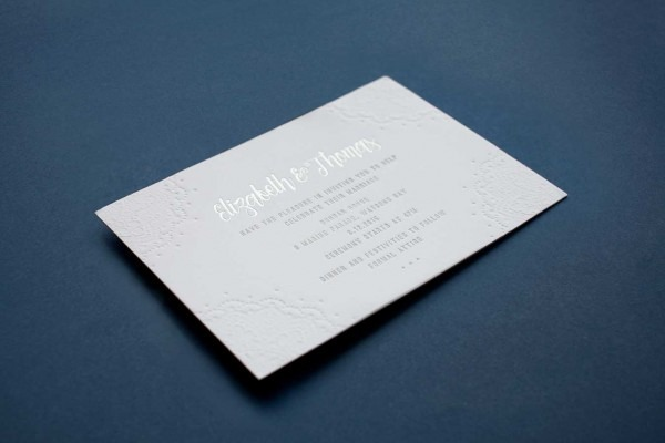 Wedding Invitation Printing Techniques Explained