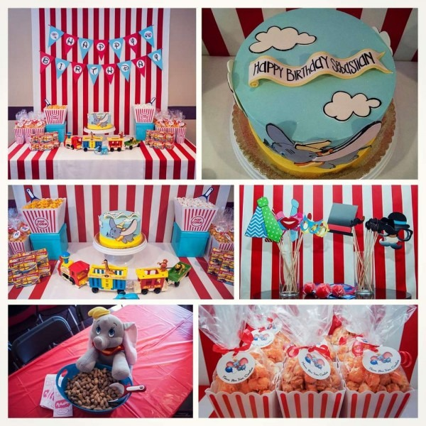 Dumbo Birthday Party Ideas