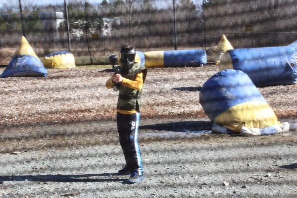 Not Your Ordinary Psychic Mom  Kid Paintball Birthday Party Was A Hit!