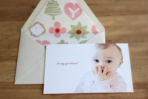 Jenny Steffens Hobick  Emma's 1st Birthday Invitation