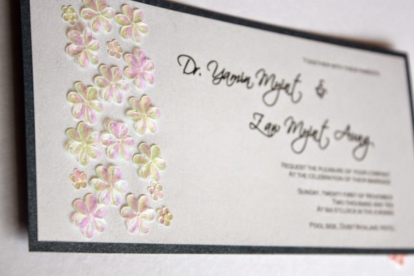 Malaysia Wedding Invitations, Greeting Cards And Bespoke Cards