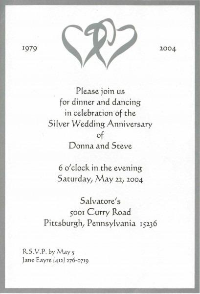 Personal Wedding Invitations