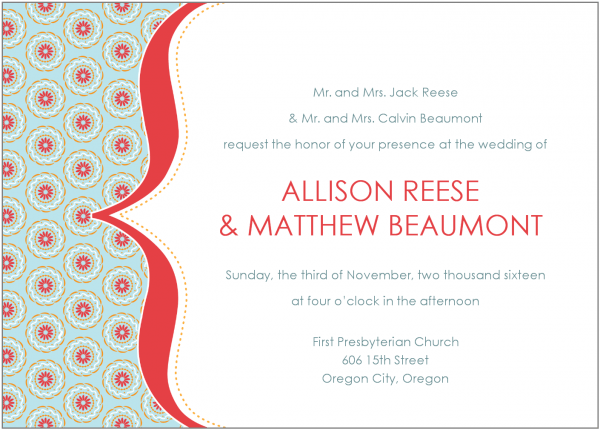 Informal Wedding Invitations Informal Wedding Invitations For Best