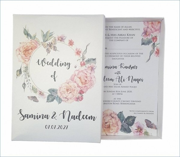 206240 Wedding Invitation Boxes Wholesale India Albertacould Org