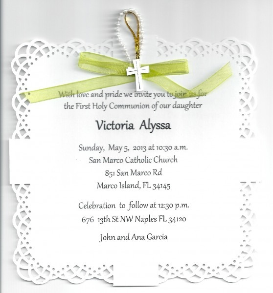 Inspirational First Communion Party Invitations 76 In Invitations