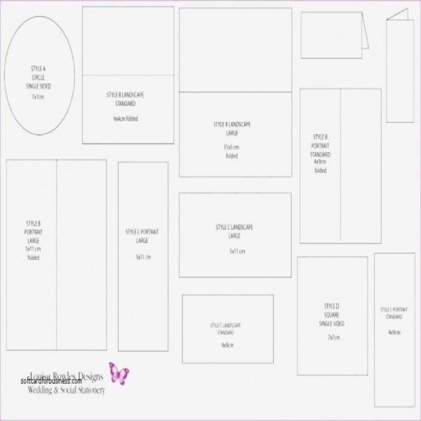 Invitation Card Size Elegant Standard Size For Wedding Invitation