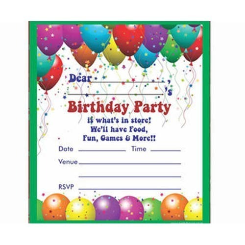 Invitation Card X Unique Inviting Cards For A Birthday