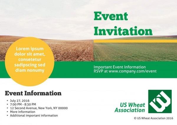 3 Free Event Invitation Templates & Examples