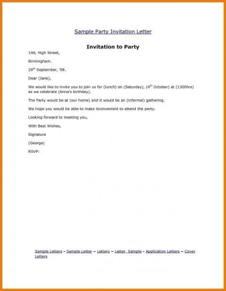 Invitation Template  Birthday Invitation Examples
