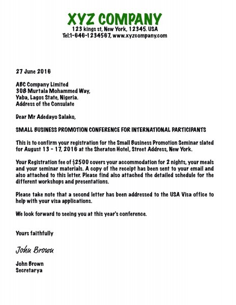 Awesome Example Letter Of Invitation For Uk Visa And China Visa