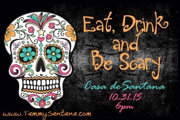 Tammysantana Com  Halloween Sugar Skull Invite With Free Printable!