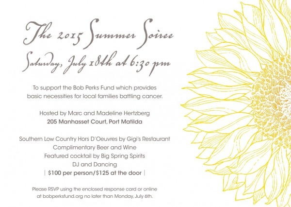 Summer Soiree 2015 – Saturday, July 18 At 6 30