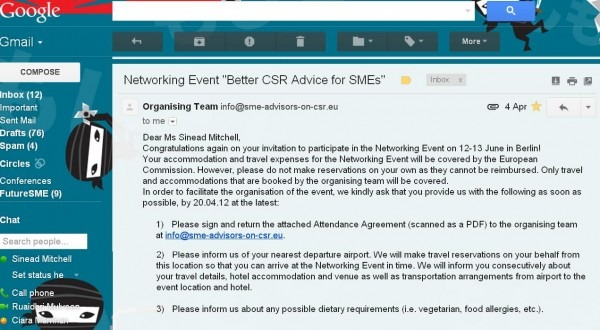Invite To Better Csr Advice To Smes