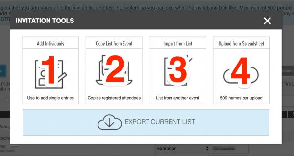 Invitation Tool – Eventsquid Software Help Topics