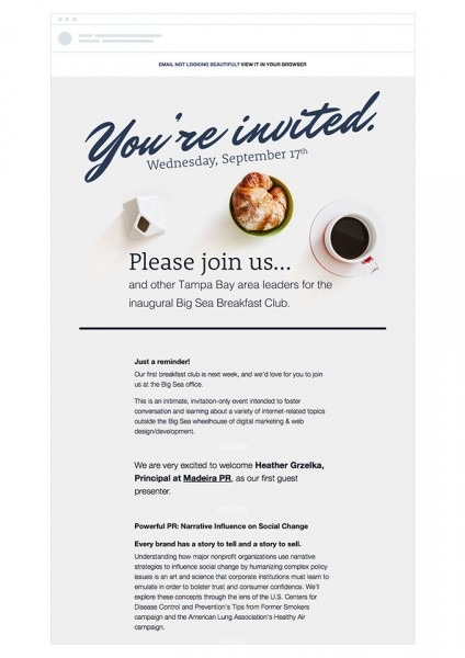 Invitation Format For Business Event New Event Invitation Email