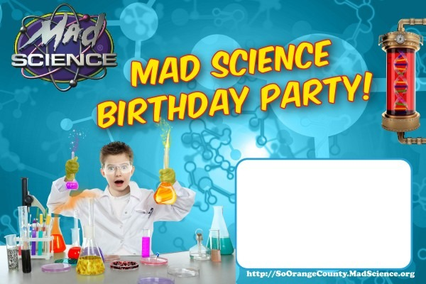 Invitation Template  Science Birthday Party Invitations