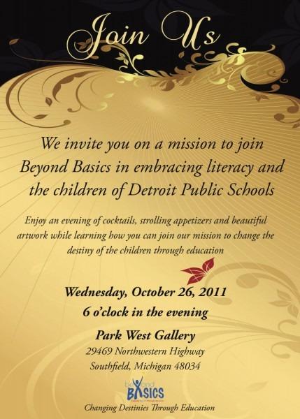 Invitation To Non Profit Event