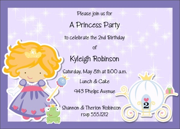 Kids Birthday Party Invitation Wording Awesome With Kids Birthday