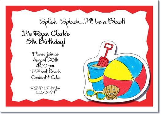 Kids Party Invitations Kids Party Invitations For Party Invitation