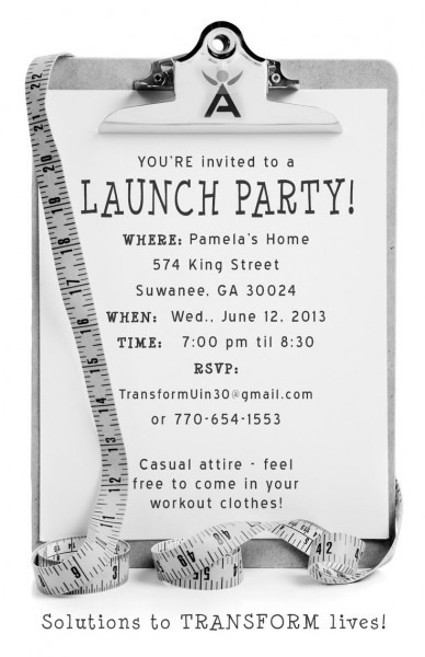 Launch Party Invitation Launch Party Invitation For Owning A