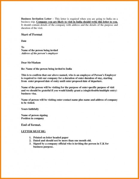 Letter To Business Partner New Sample Invitation Letter To