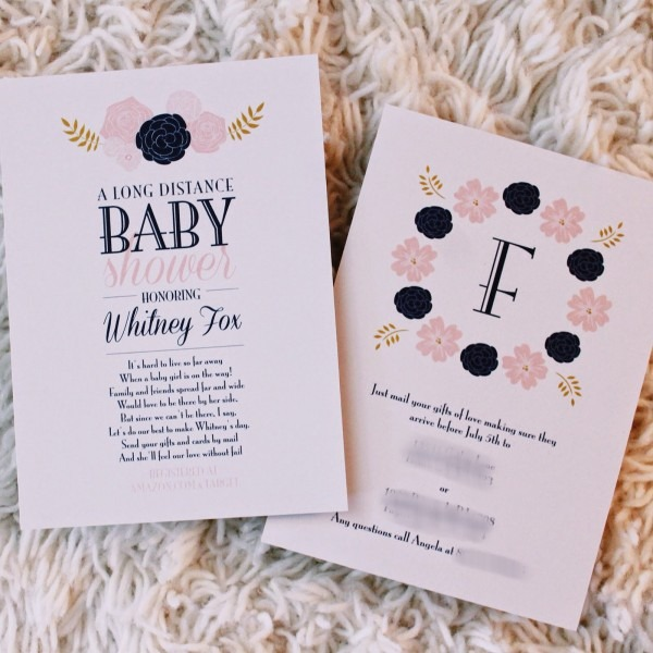 When To Send Baby Shower Invitations