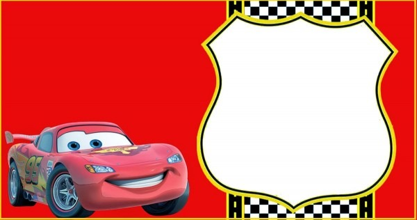 Lightning Mcqueen Invitation Template Nice Cars Invitation