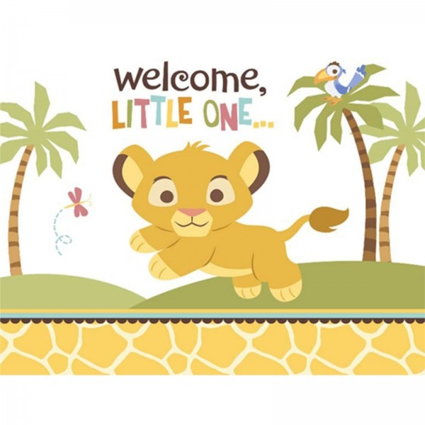 Lion King Invitations Baby Shower