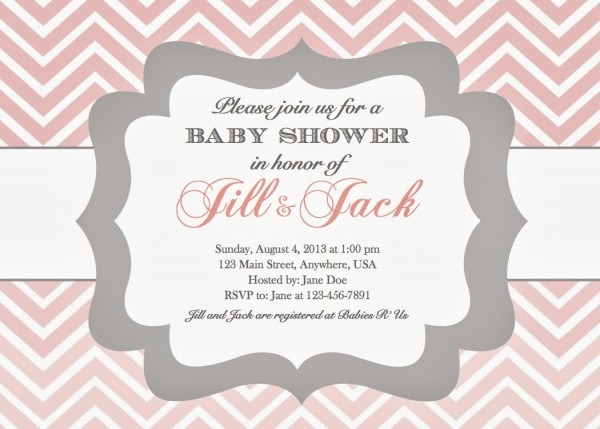 Lovely Baby Shower Invitation Examples 26 In Invitations Wedding