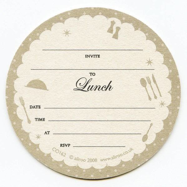 Luncheon Invitation Templates Free Reference Of Template Lunch 4