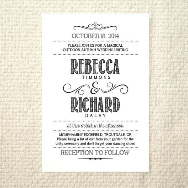 Luxury Etsy Wedding Invitations Rustic And Wedding Invitation