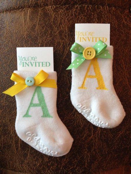 Good Homemade Baby Shower Invitations
