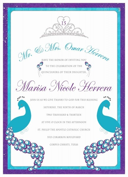 Masquerade Sweet 16 Invitations Beautiful Blue And Gold Sweet 16