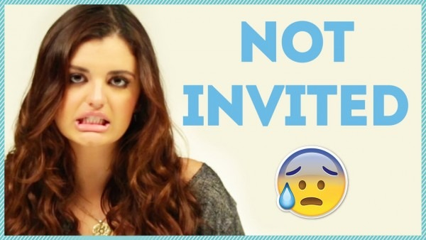 Not Invited To The Party W  Rebecca Black