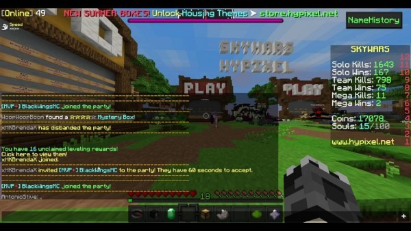 Teach] How To Party And Disband In Hypixel