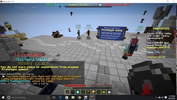 How To Invite Someone Minecraft Hypixel