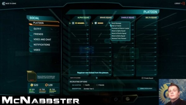 How To Create A Squad Or Platoon In Planetside 2