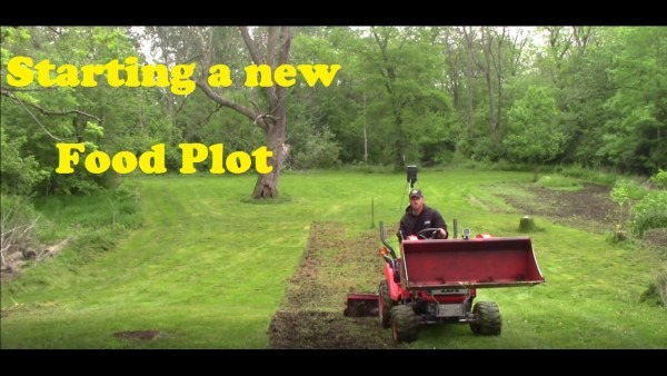 Installing The New Food Plot For The Eagle Seeds Soybeans